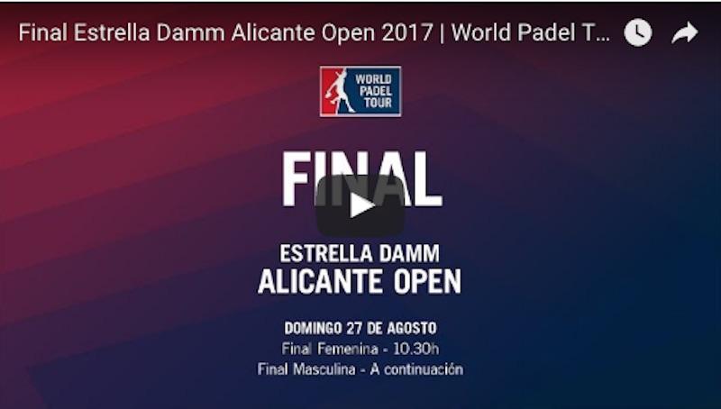 Final Alicante 2017 online Bela - Lima y Mapi - Majo S. Alayeto, campeones del Estrella Damm Alicante Open 2017