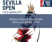 Resultados octavos de final World Padel Tour Sevilla 2017