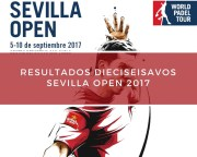Resultados dieciseisavos de final World Padel Tour Sevilla 2017