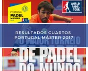 Resultados cuartos de final Máster World Padel Tour Portugal 2017