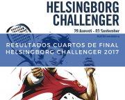 Resultados cuartos de final World Padel Tour Helsingborg Challenger 2017