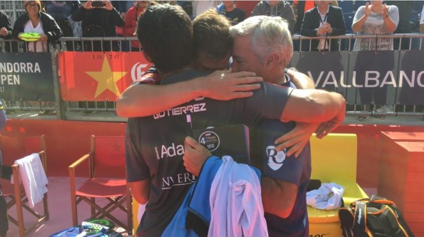 Campeones WPT Andorra 2017 Paquito - Sanyo y las Gemelas S. Alayeto vencedores en Andorra