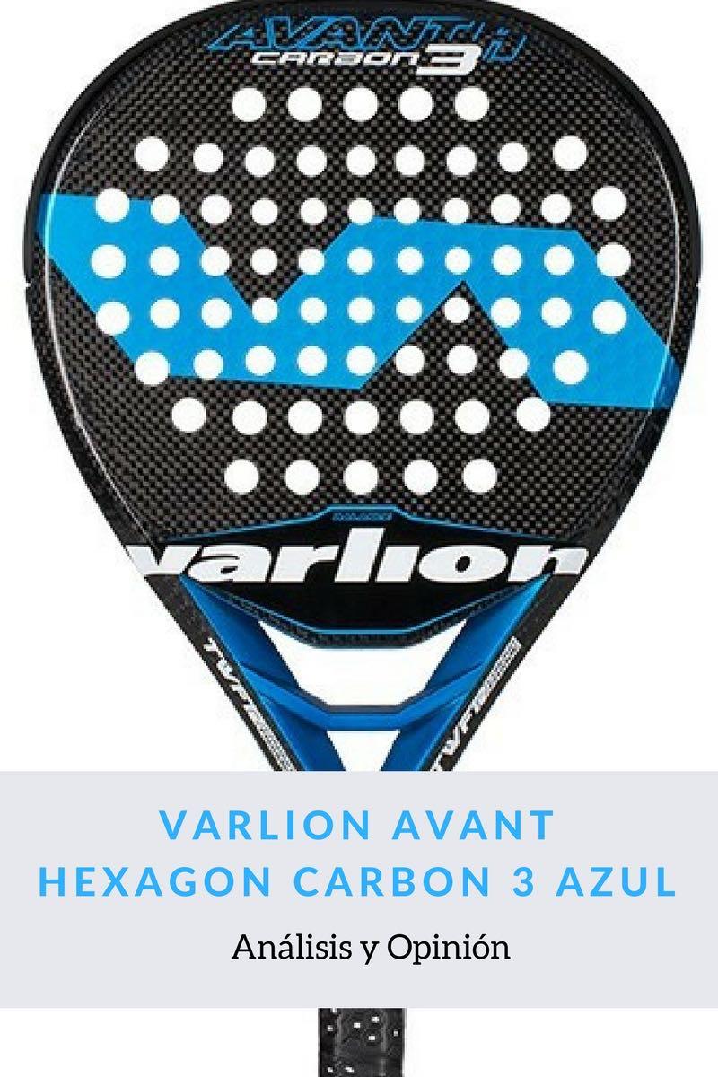 Varlion Avant Hexagon Carbon 3 Azul