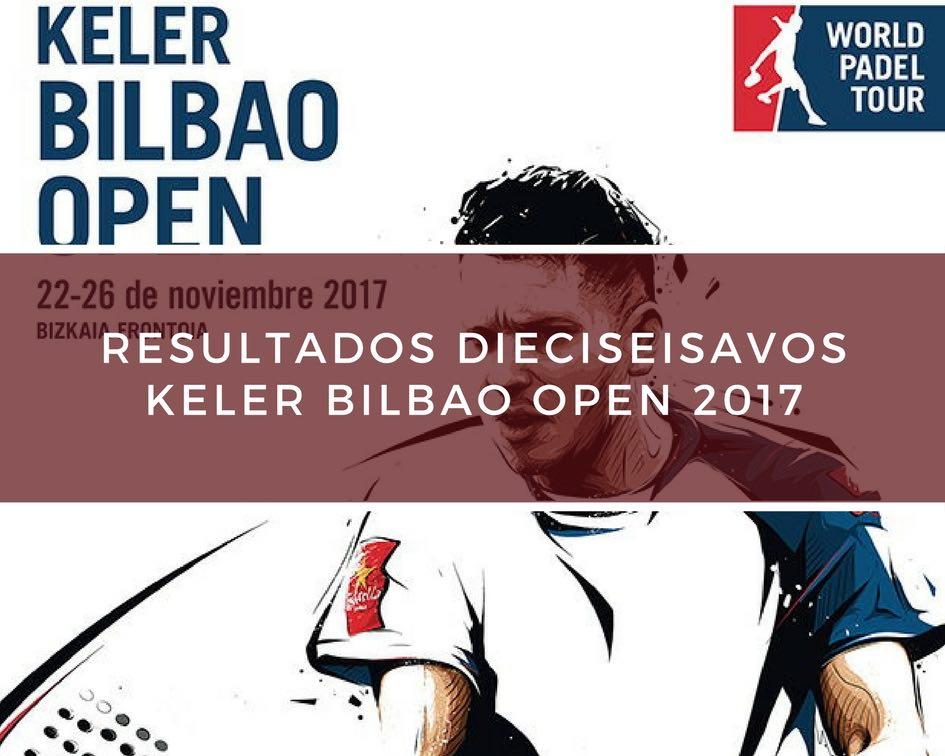 Resultados dieciseisavos de final World Padel Tour Bilbao 2017