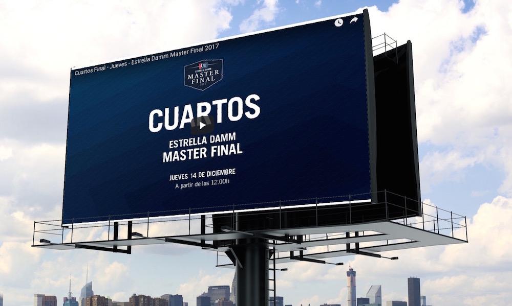 Cuartos de final Master Final World Padel Tour 2017 en directo y online (Jueves)