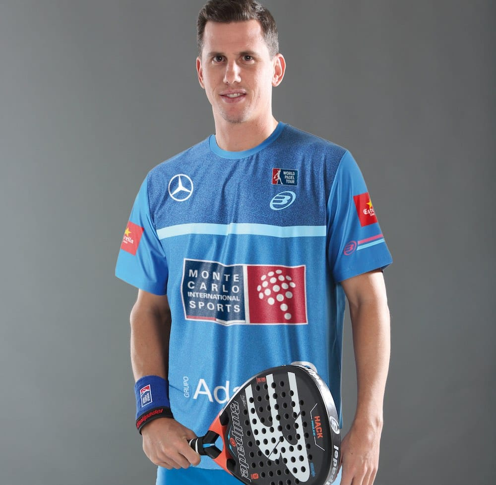 Paquito Navarro 2018 ¿Con qué camisetas compiten los jugadores del World Padel Tour?