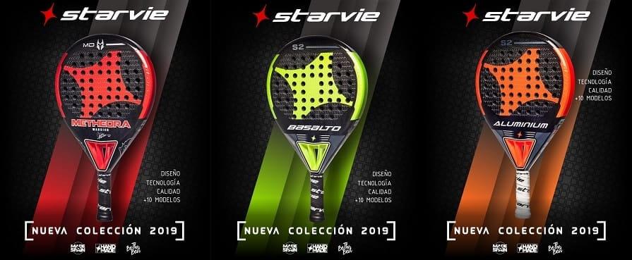 StarVie 2019 1 Nueva colección de palas StarVie 2019