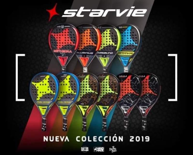 Nueva colección de palas StarVie 2019