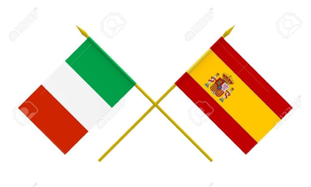 l italie et l espagne le padel a 4