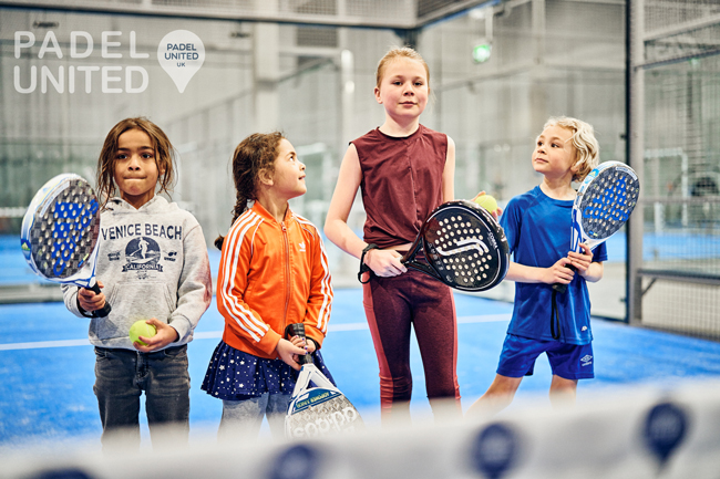 Padel For All – Padel United New Junior Programme