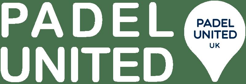 padel united uk logo white