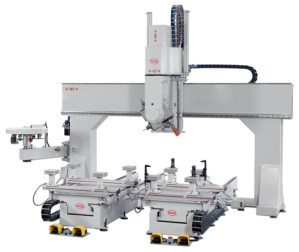PADE Clipper CNC Work Center Fixed Bridge