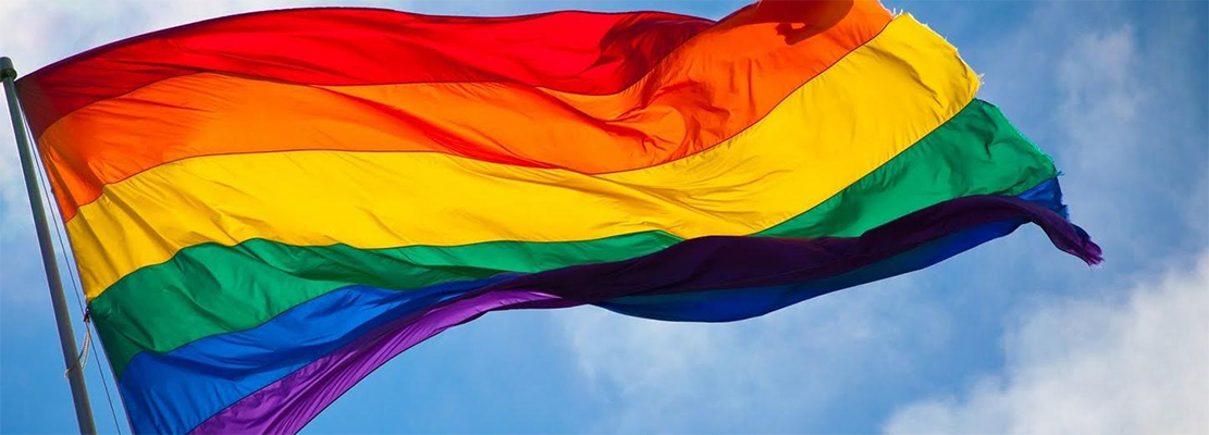 This is the rainbow flag.