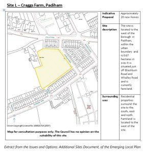 Burnley's Local Plan: Additional Sites Consultation