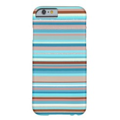 Abstract design horizontal lines in pastel colors phone case