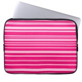 Hot and pale pink laptop sleeve