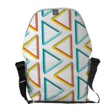 Impossible triangles pattern bag