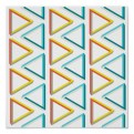 Impossible triangles pattern poster