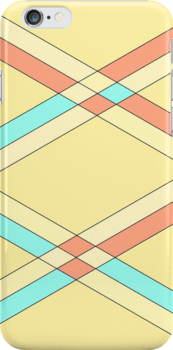 Impossible triangles overlapping phone case