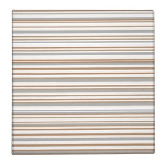 Abstract design horizontal lines in golden tones poster