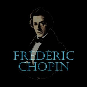 Frédéric Chopin portrait and typography
