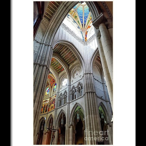 Almudena Cathedral Interior framed print