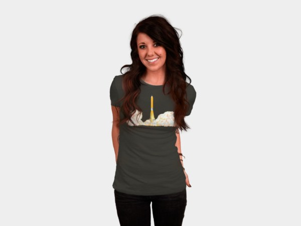Creative takeoff women's tee