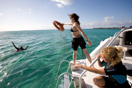 Rescue Diver - Boat Rescue - Flotation Rescue