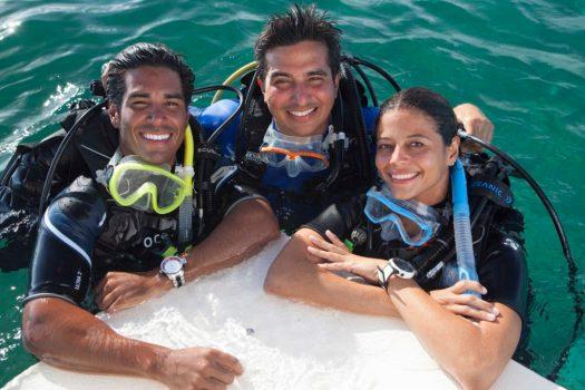 Scuba Diving - Top Side - Ocean - Happy Divers