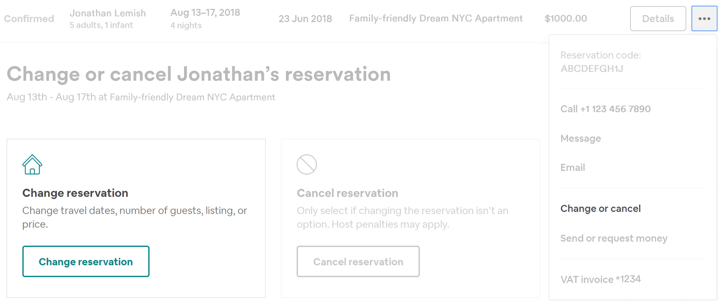 How to Alter an Existing Reservation on Airbnb - Padlifter