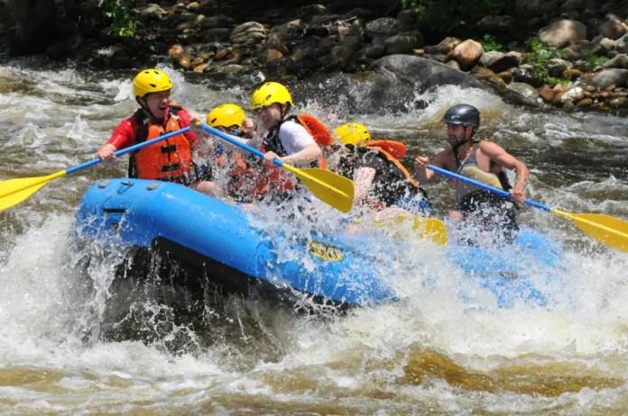 donde hacer rafting en colombia