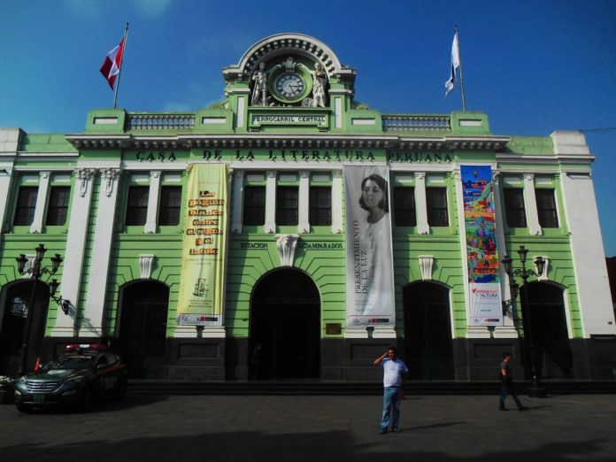 donde queda la casa de la literatura peruana lima