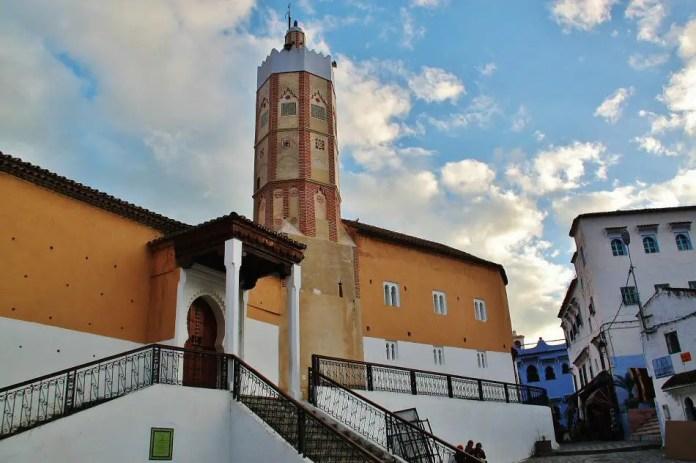 pueblo azul de marruecos
