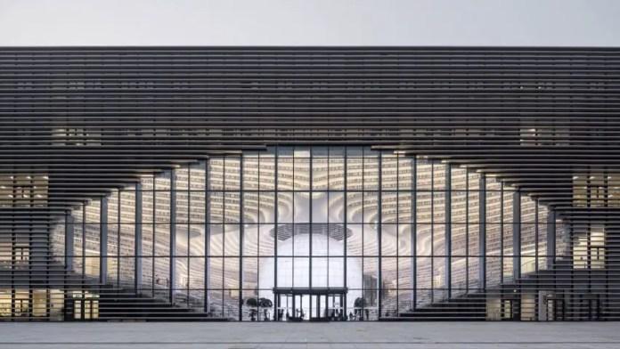 biblioteca futurista china