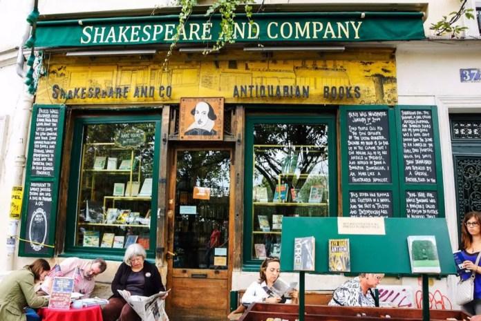 librerias famosas en paris