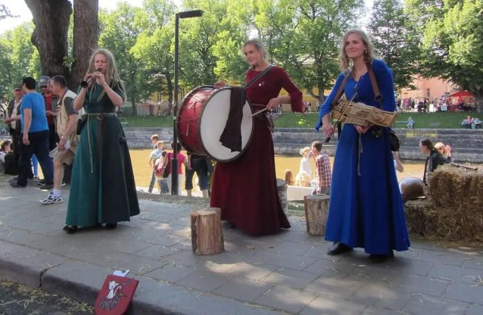 mercado medieval en finlandia