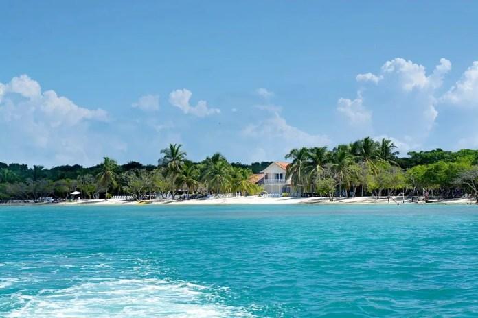 Mejores playas de Cartagena: Playa Azul