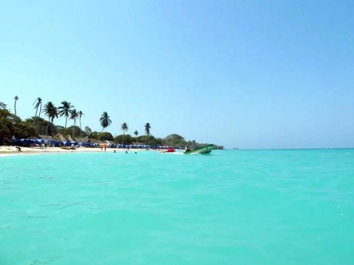 Mejores playas de Cartagena: Playa Barú