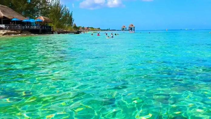 Mejores playas privadas Cozumel: Playa Uvas