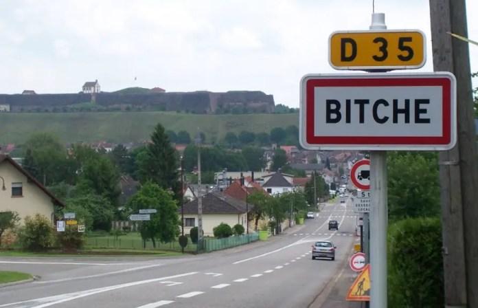lugares en Francia con nombres raros