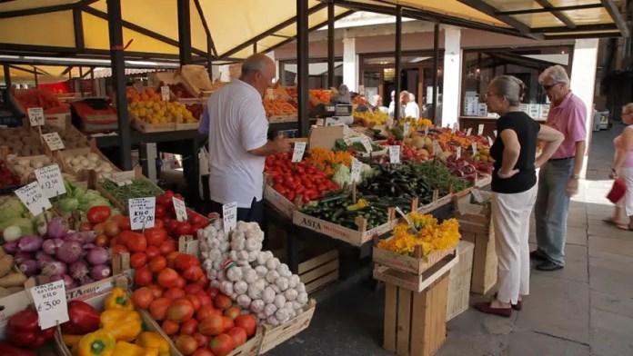 productos frescos en italia