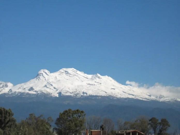 volcaniztaccihuatl forma