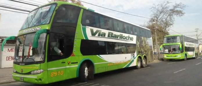 pasajes a bariloche en bus