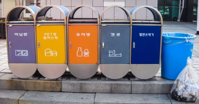 mejor sistema de recoleccion de basura corea del sur