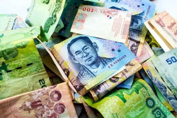 como se llama la moneda de tailandia