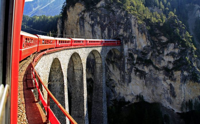 recorrer europa en tren