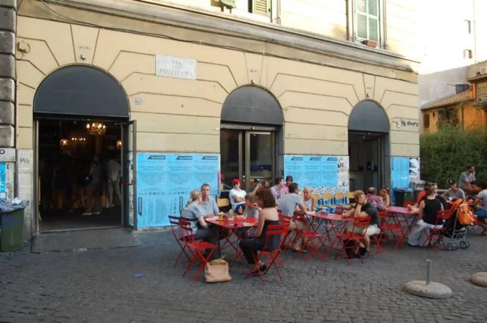 zona de bares de roma