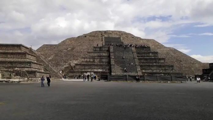 como llego a teotihuacan
