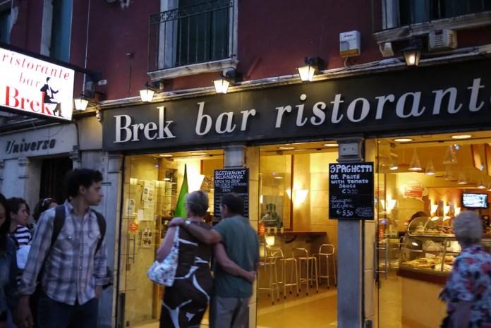 brek venecia