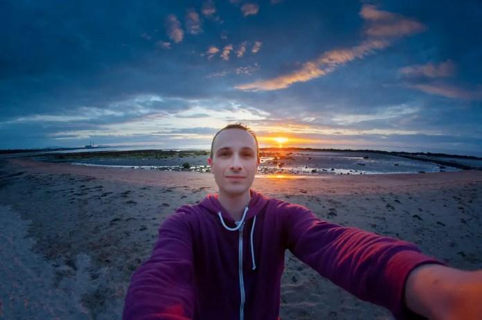 como tomarse una selfie profesional